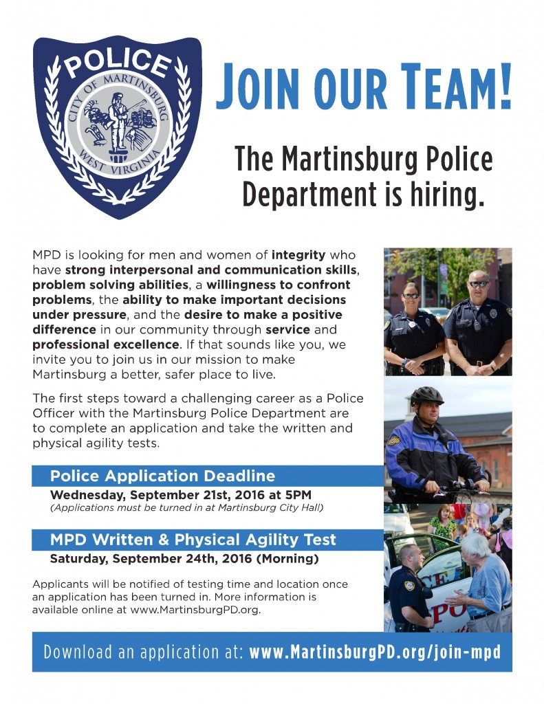 MPD Recruitment2016