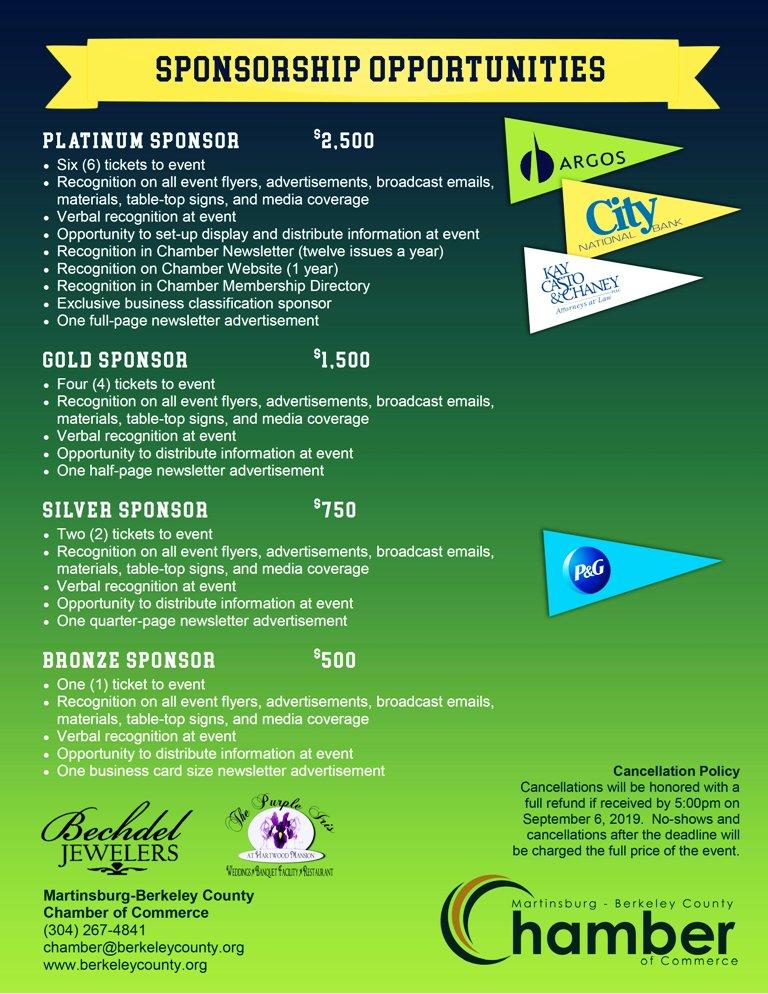 Tailgating Under the Stars Sponsorships