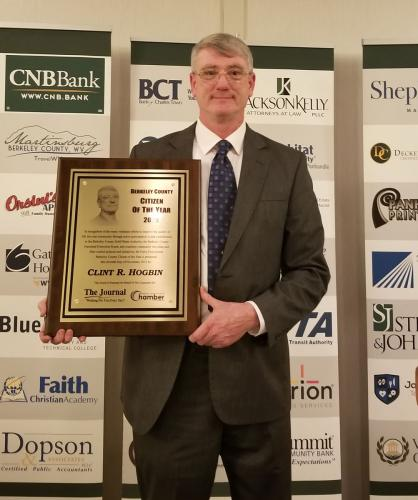 2018 Berkeley County Citizen of the Year - Clint R. Hogbin