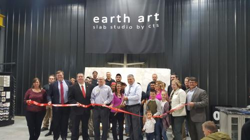 Earth Art Slab Studio by CTS